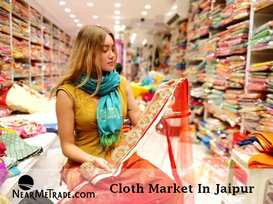 Cloth Market in Jaipur