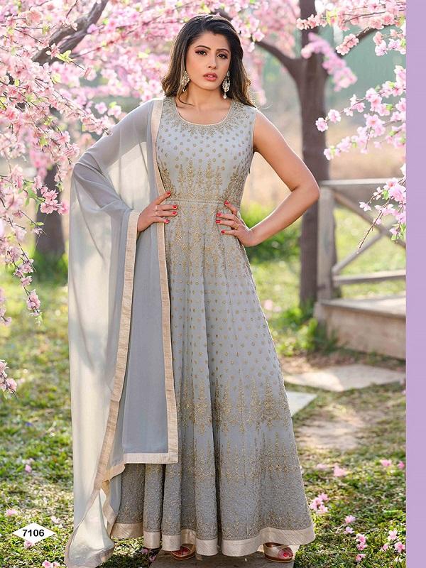 Ladies Designer Embroidered Anarkali Suits Wholesale | Esika World