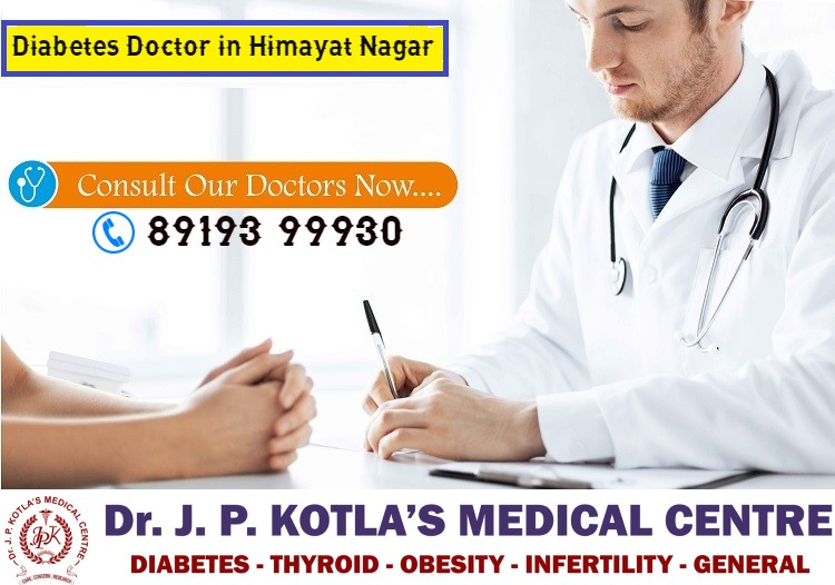 Diabetes Doctor in Hyderabad-Best Diabetes Doctor in Himayat Nagar