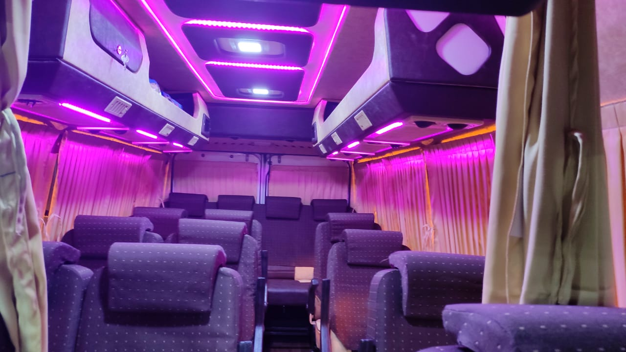 Tempo Traveller for hire In Gadag