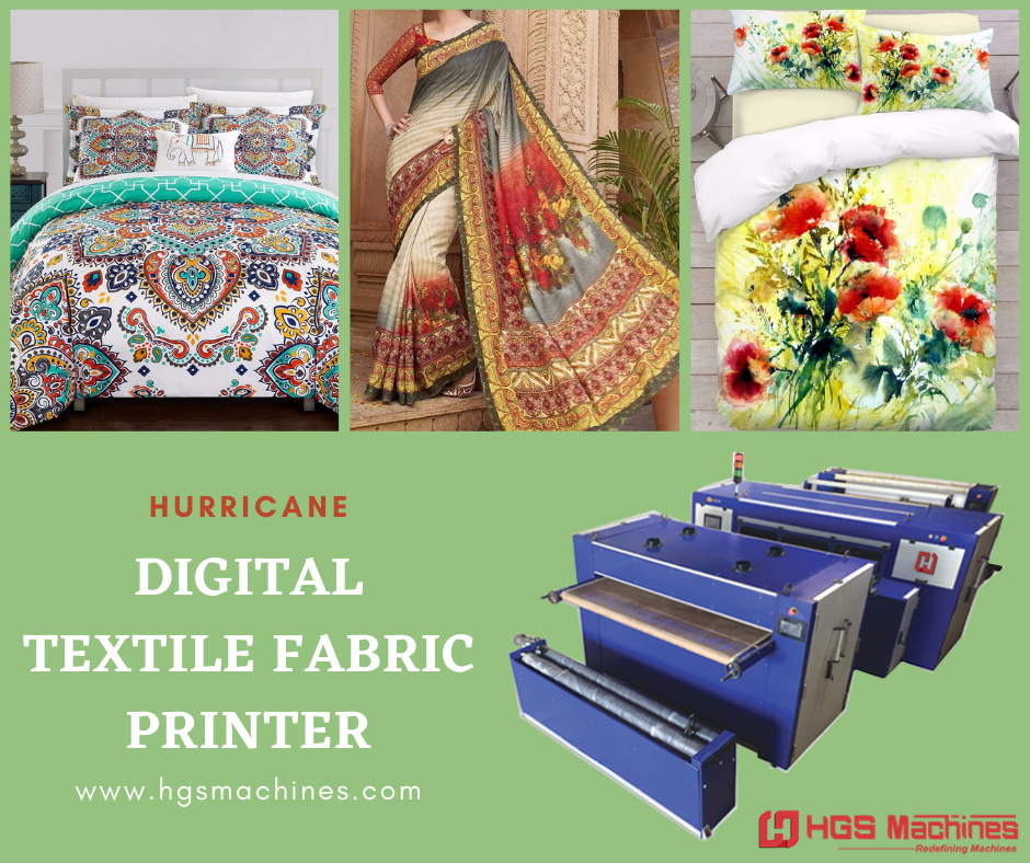 High Speed Digital Textile Printing Machine (Hurricane)