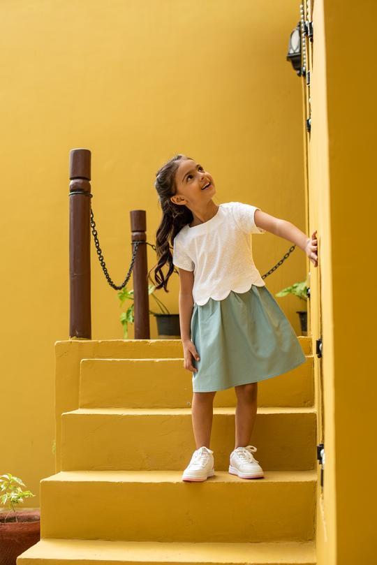 Buy Casual Dress for Baby Girl & Short Skirts for Kids.