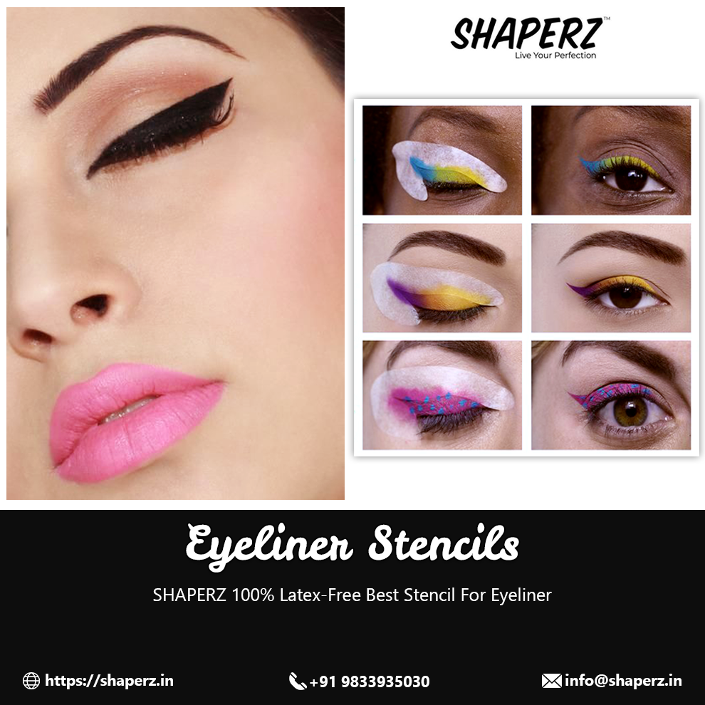 The Perfect Eyeliner Stencil | Cat Eyeliner Stencil - Shaperz Mumbaii