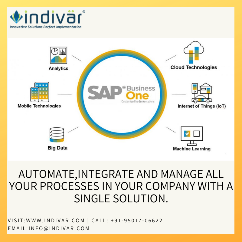 SAP Business One ERP Service in India