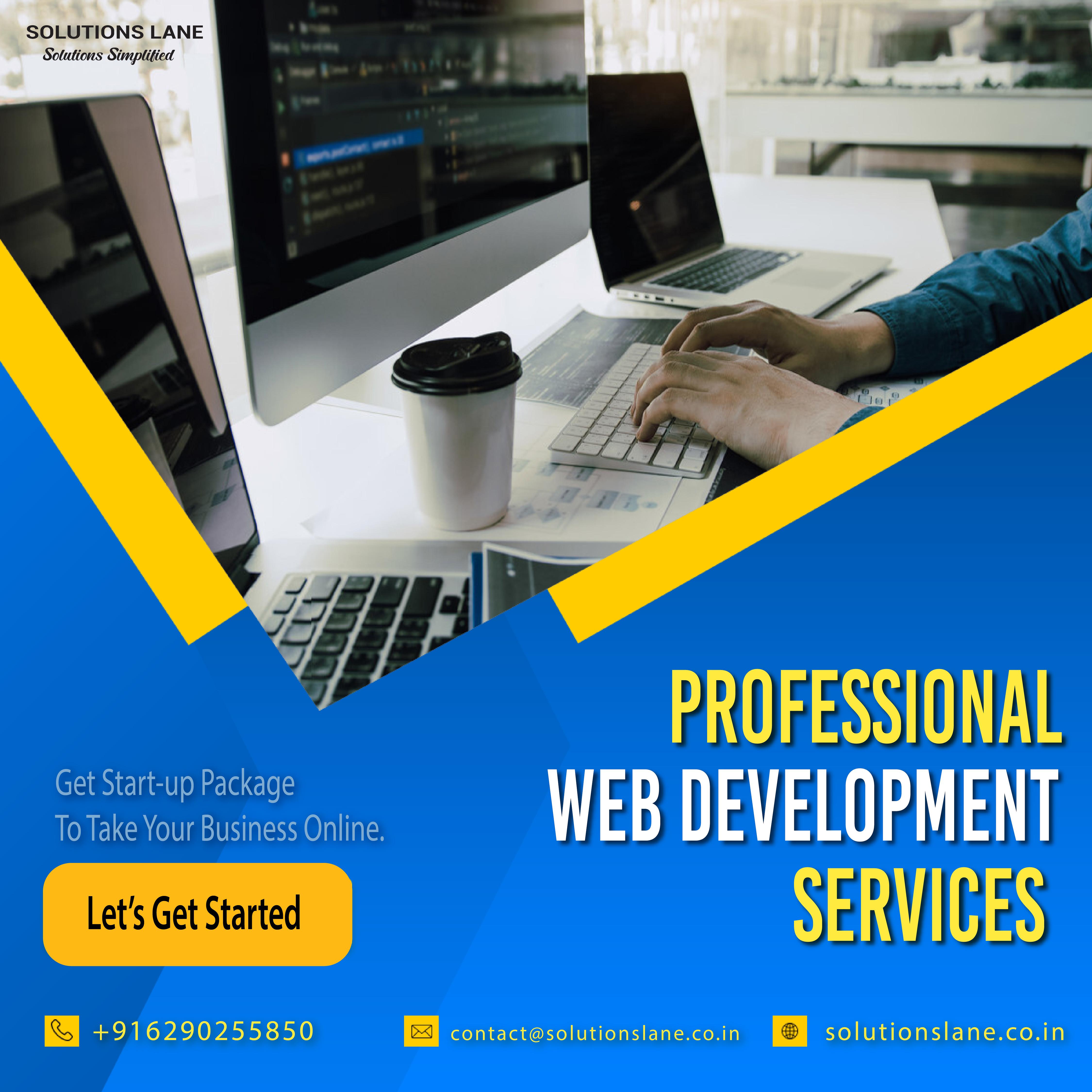 Professional Web Development Services in Kolkata