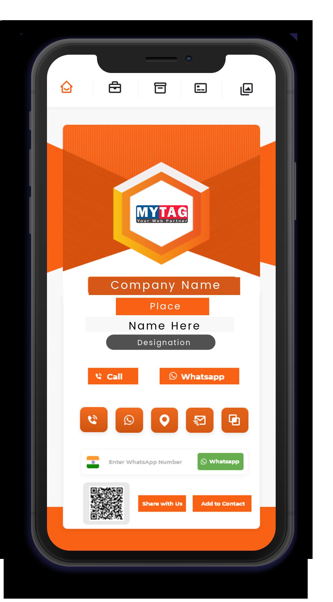 MyTag Digital Visiting Card - Gold Plan