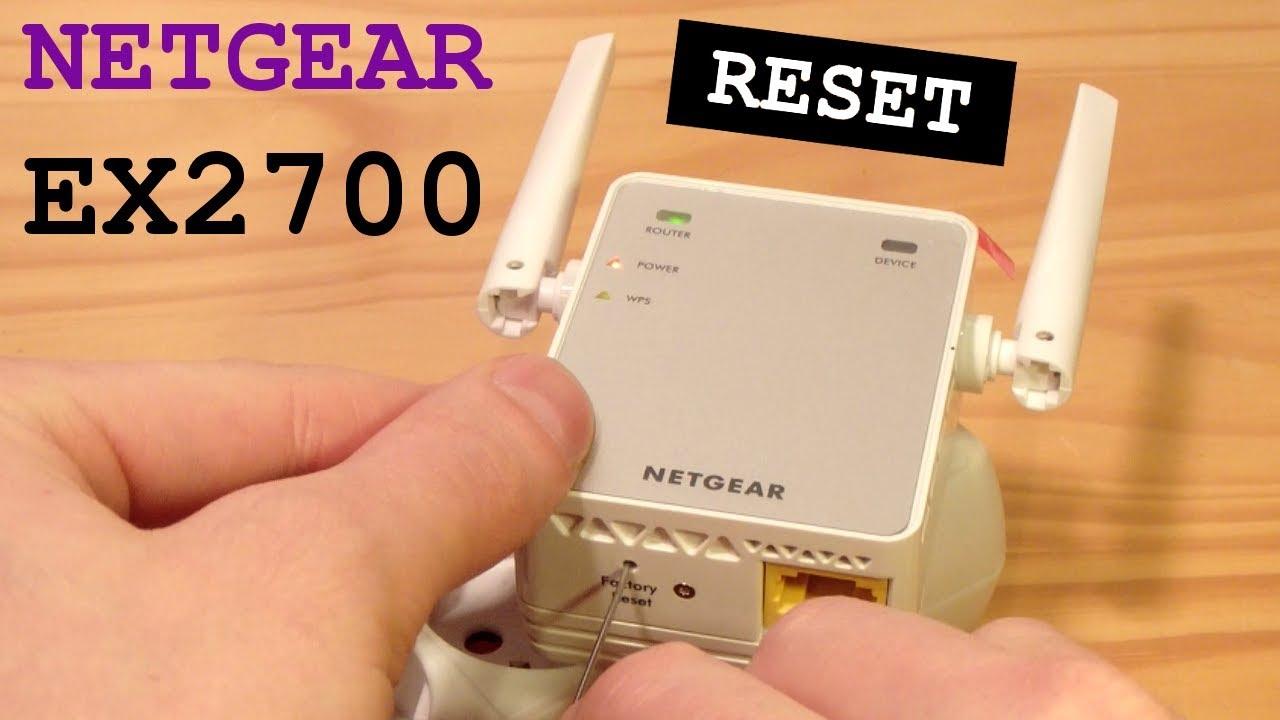 Netgear ex2700 Extender Setup