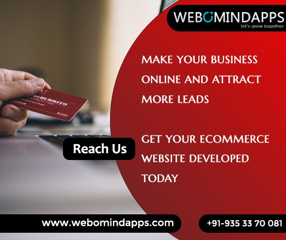 eCommerce Website Development Company - Webomindapps