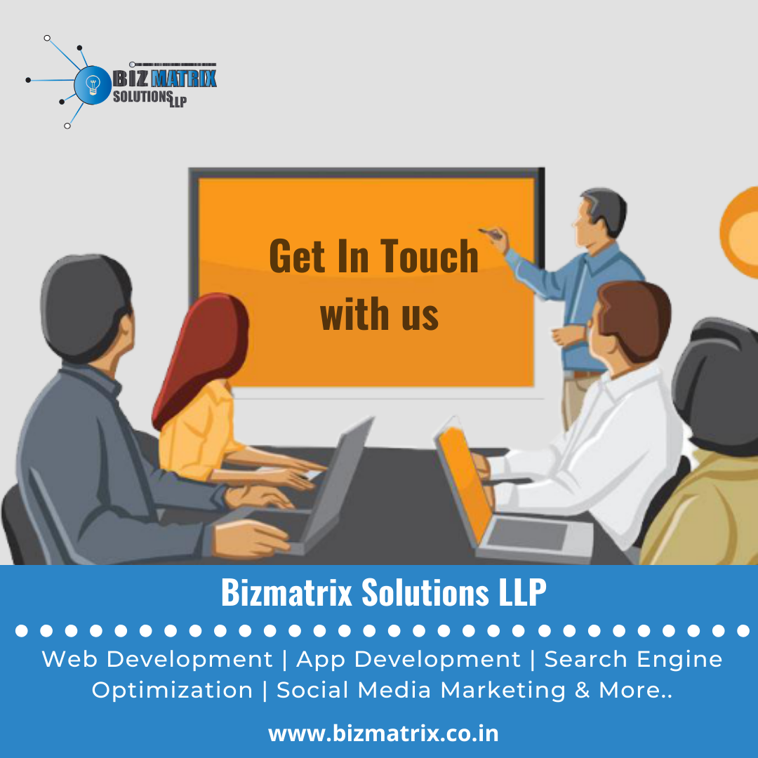 Bizmatrix Solution - Professional Web Designing Services In Kolkata
