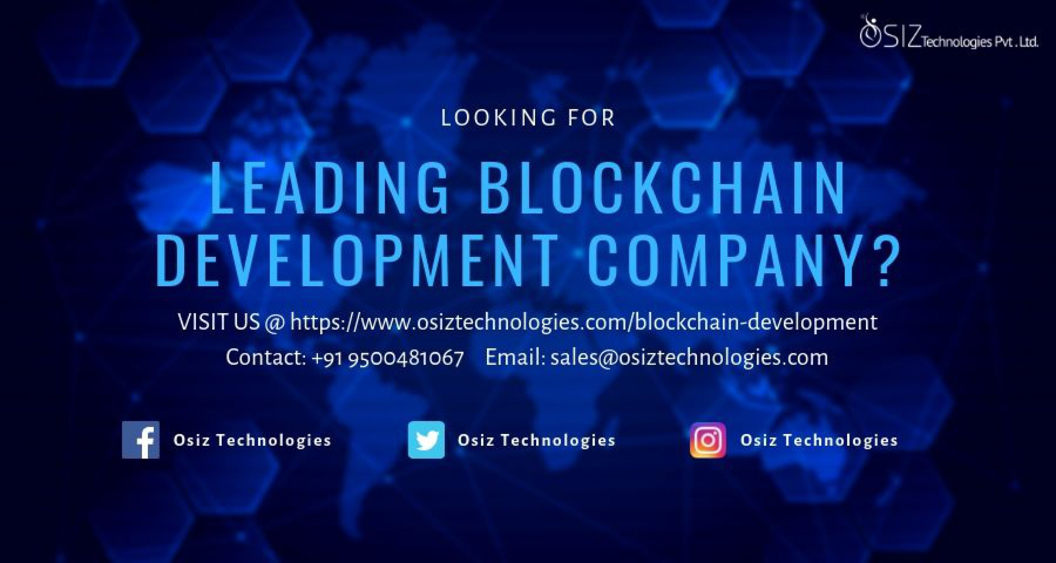Osiz Technologies - Blockchain Development company in Madurai