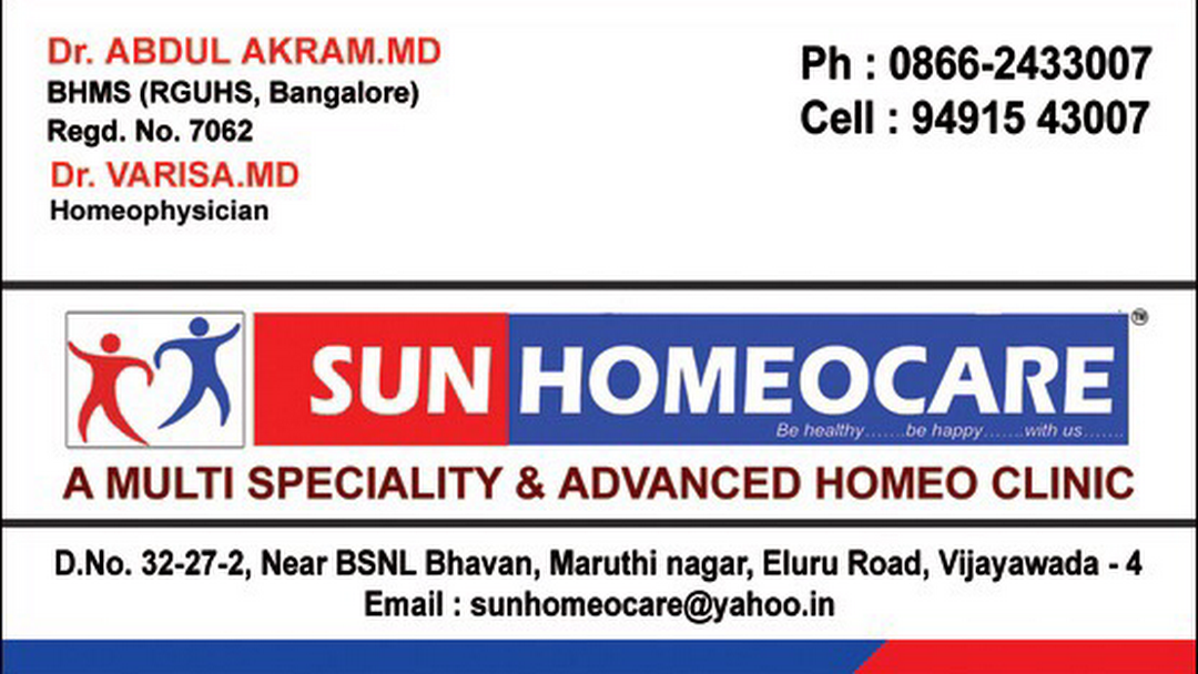 Homeopathy Clinic SUNHOMEOCARE