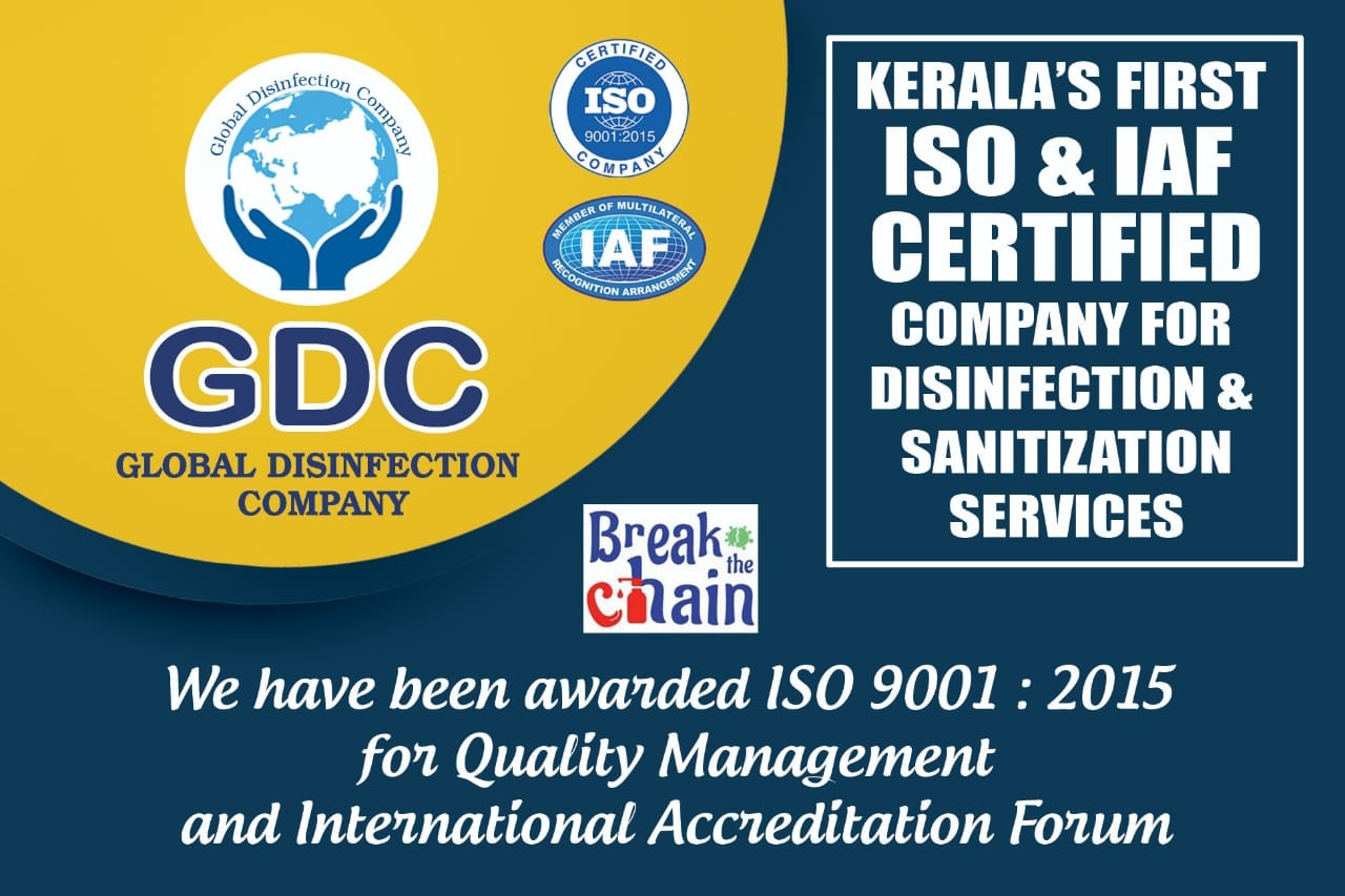 GDC GLOBAL DISINFECTION COMPANY