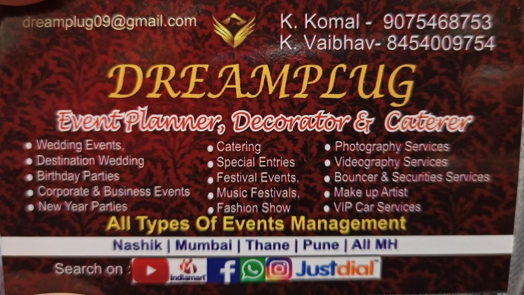 DREAMPLUG Event Planner, Decorator & Caterer