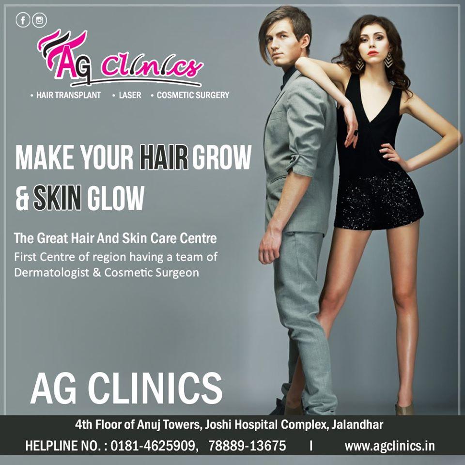 AG Clinics - Hair transplant, skin care, plastic surgery, cosmetic surgery