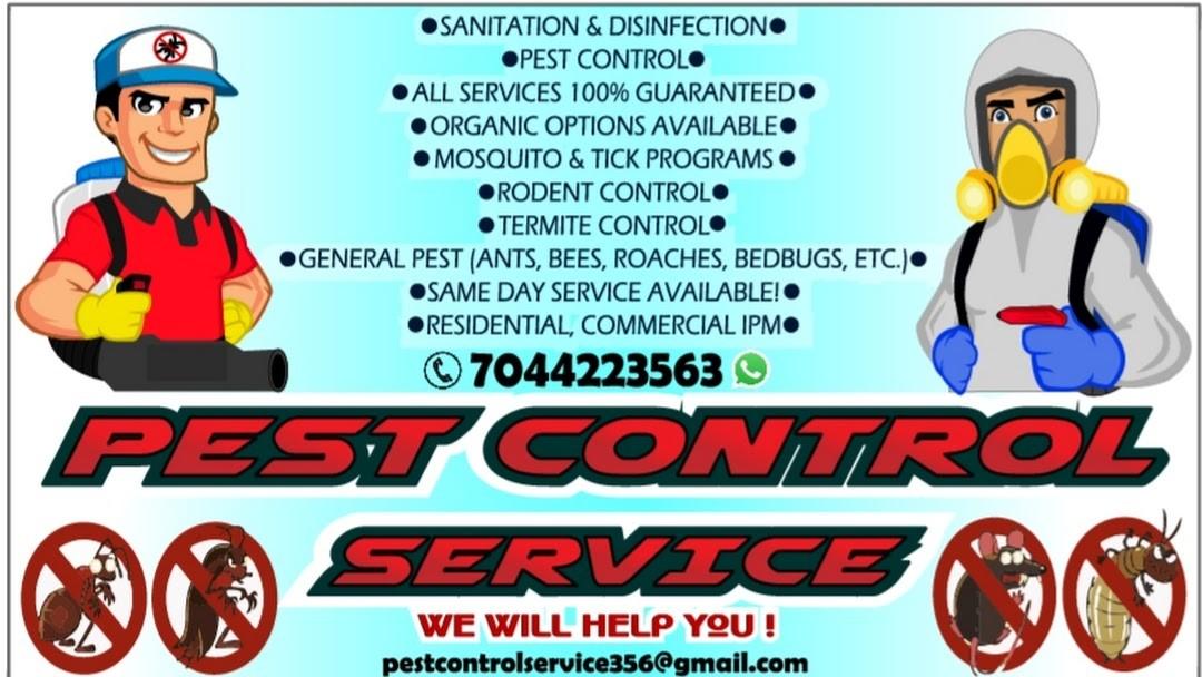 PEST CONTROL SERVICE & SANITATION
