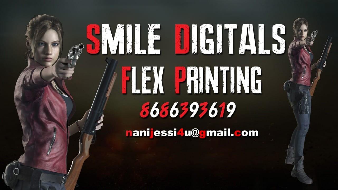 Smile digitals flex printing services