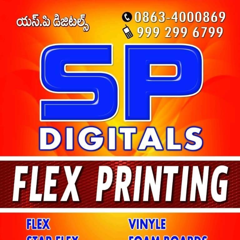 SP Digitals Flex Printing
