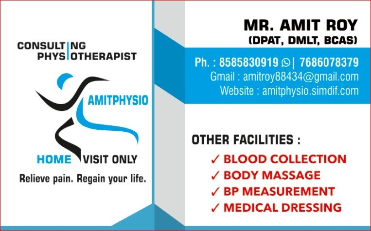 AmitPhysio.PT || Physiotherapy Home Services And Massage Therapy
