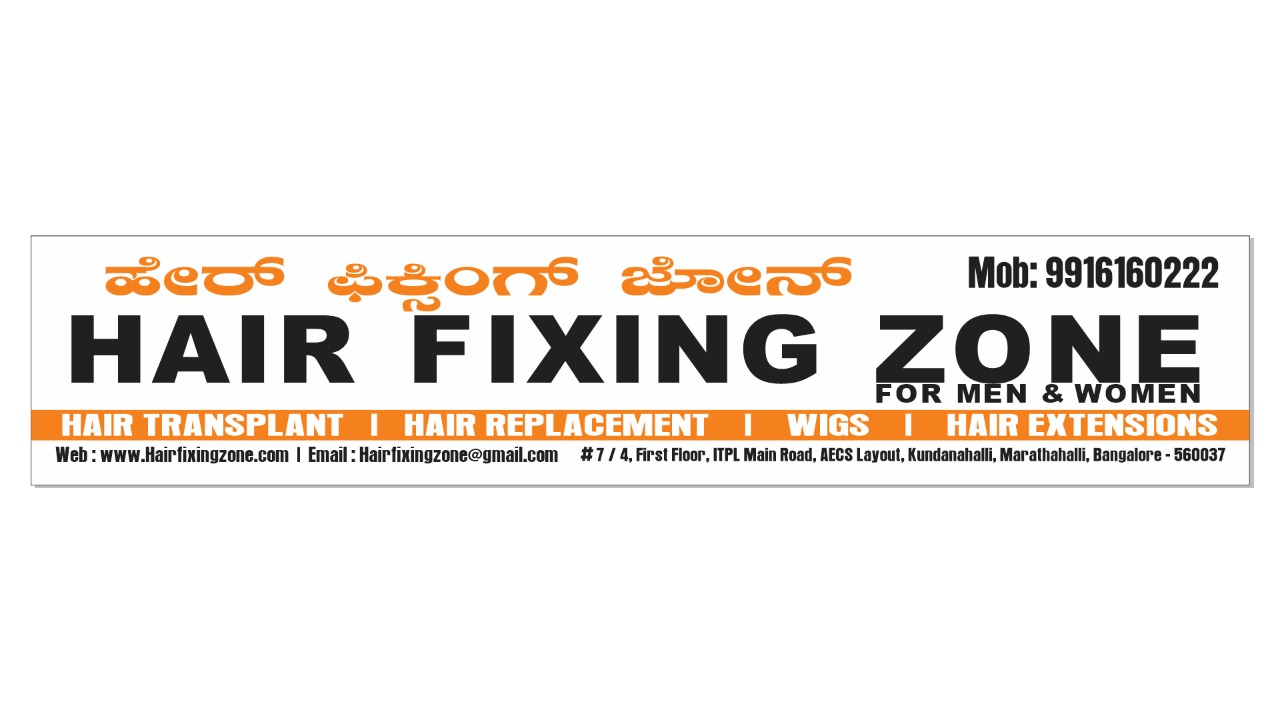Hair Fixing Zone