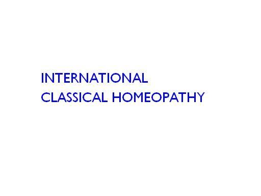 International Classical Homeopathy