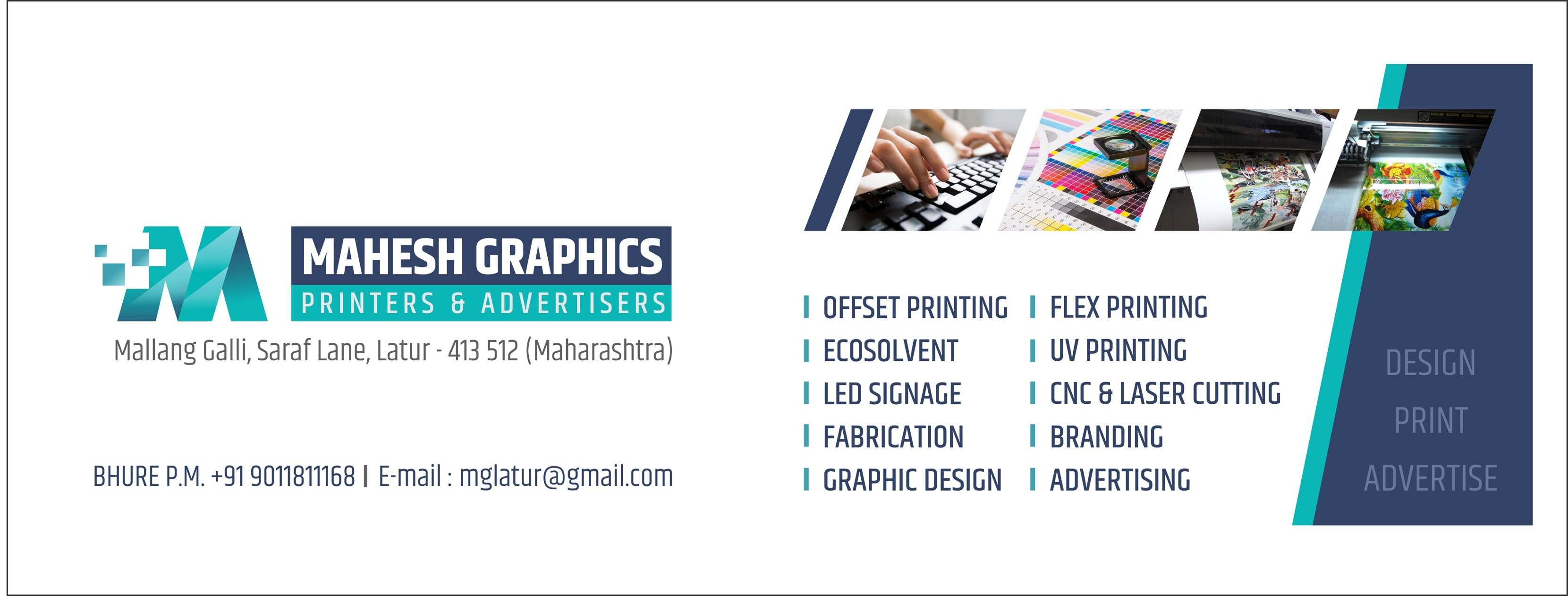 Mahesh Graphics Printers & Advertisers