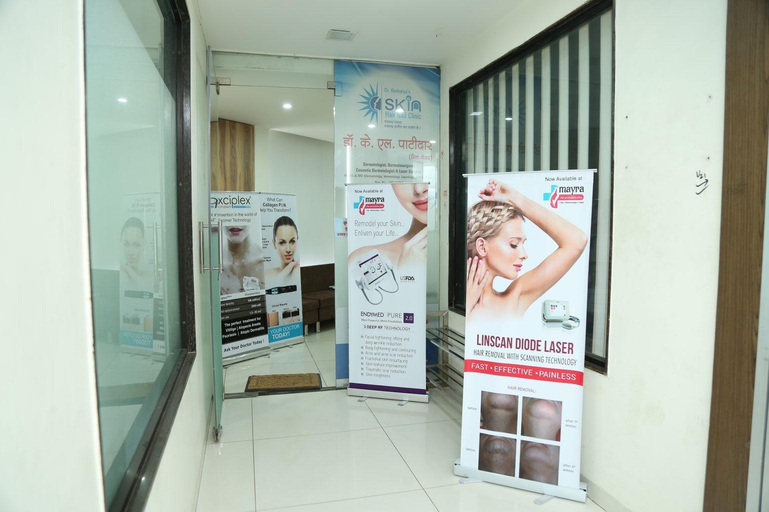 Dr Kanhaiya's Mayra Skin & Aesthetics clinic