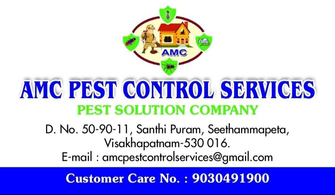 AMC PEST CONTROL SERVICES