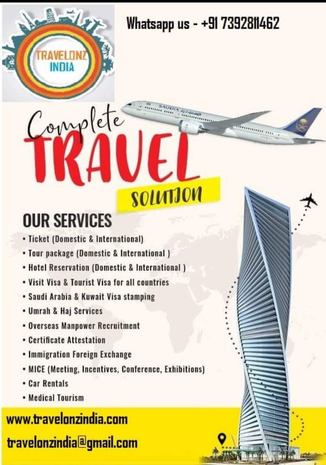 TRAVELONZ INDIA in Lucknow