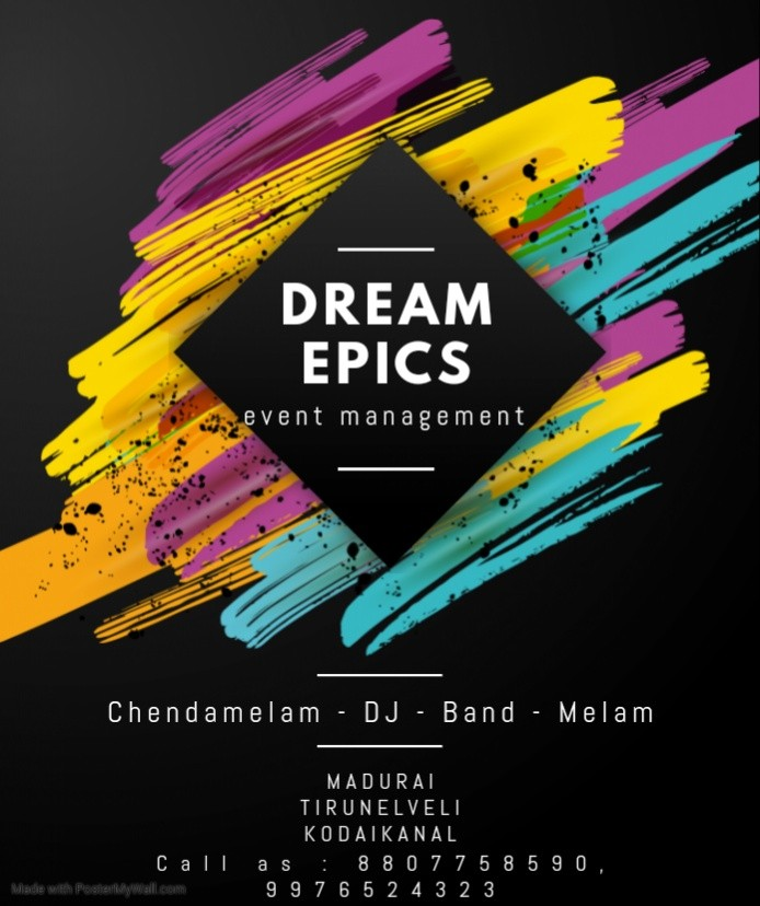 Dream Epics Event Management