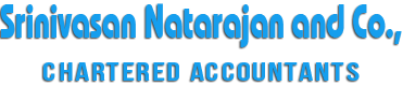 SRINIVASAN NATRAJAN AND CO.,  Chartered Accountants