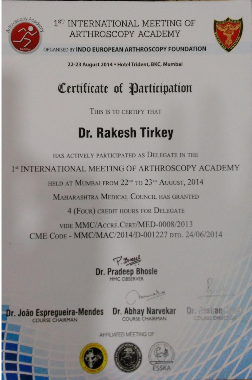 Dr. Rakesh Tirkey