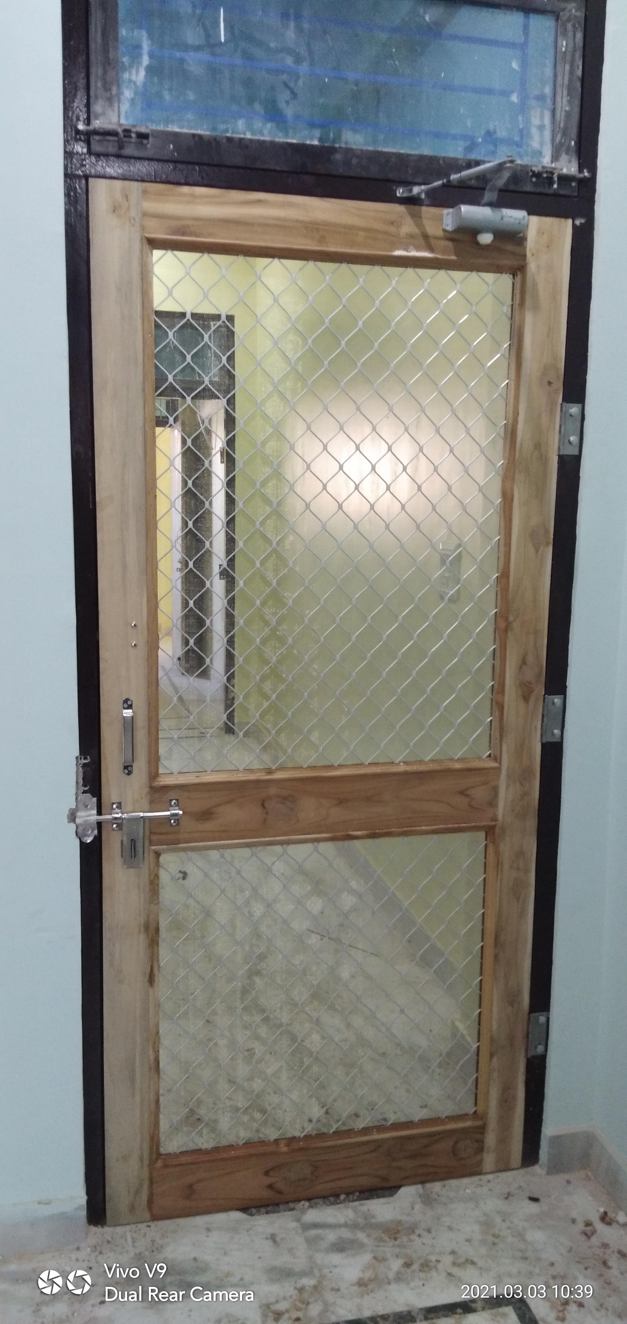 Polymade doors