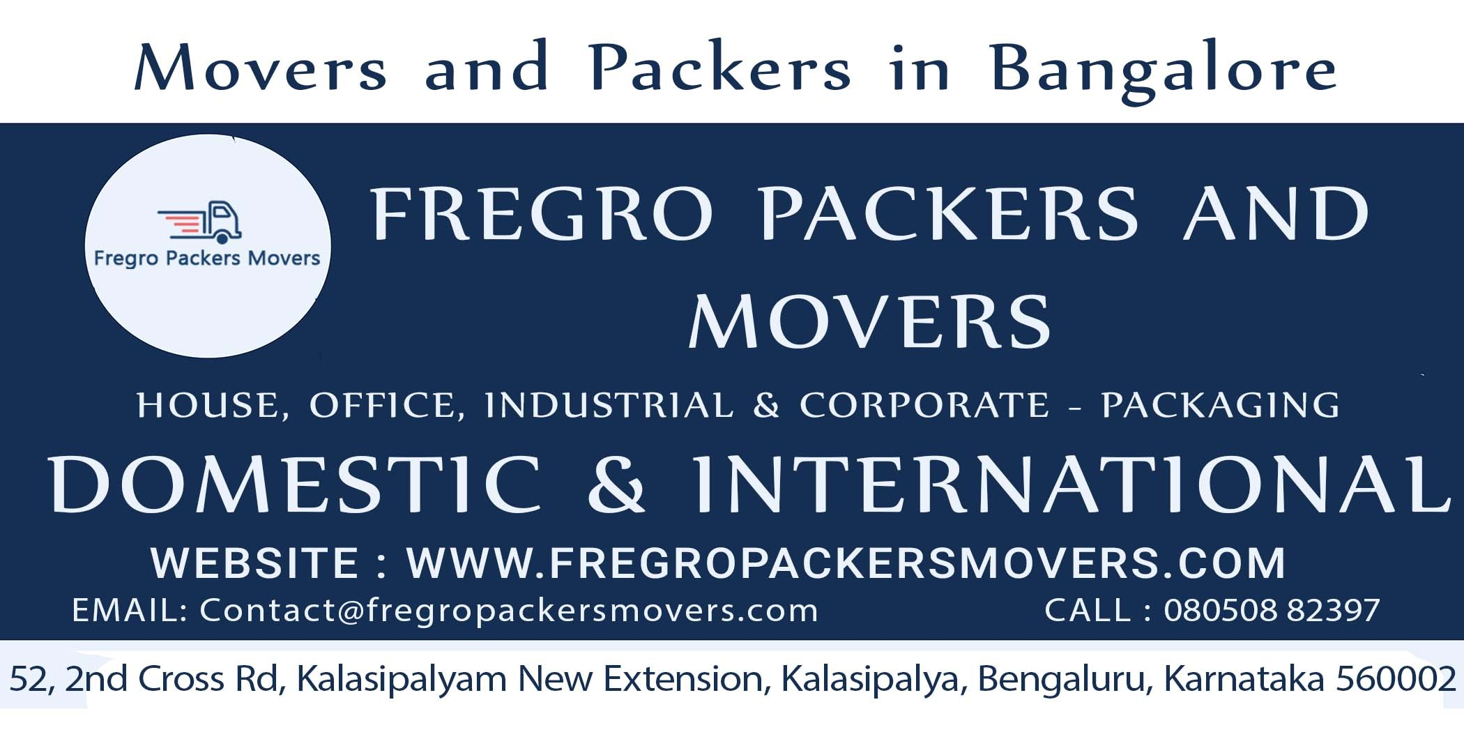 Fregro Pakcers and Movers