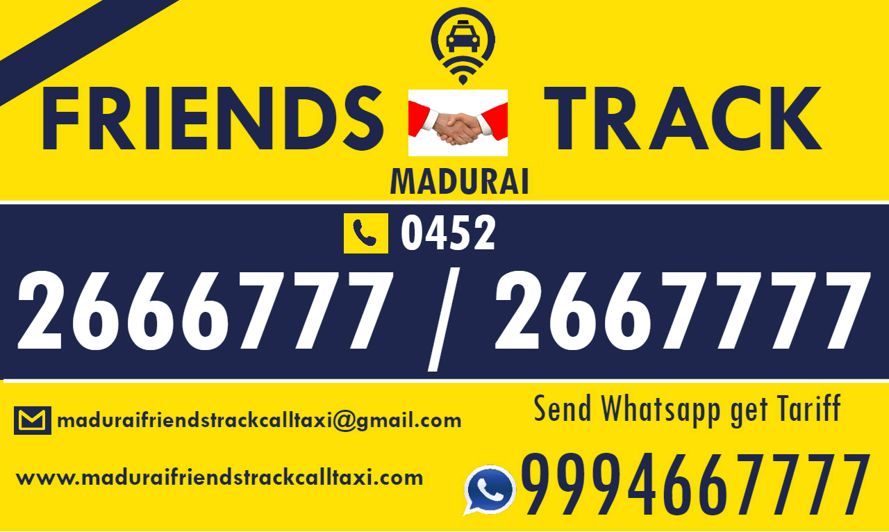 Madurai Friends Track Call Taxi & Cabs