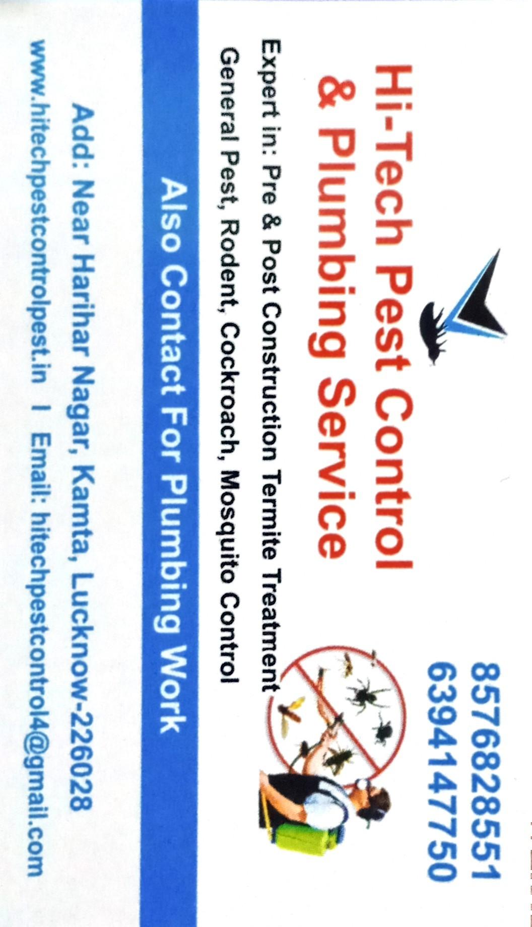 Hi tech pest control and sanitization