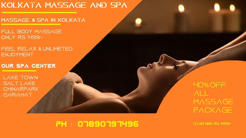 Massage and Spa center in kolkata
