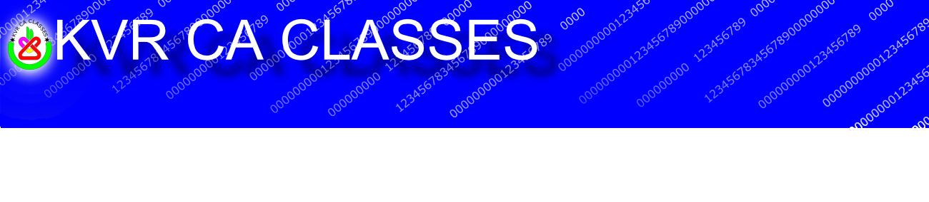 KVR CA Classes