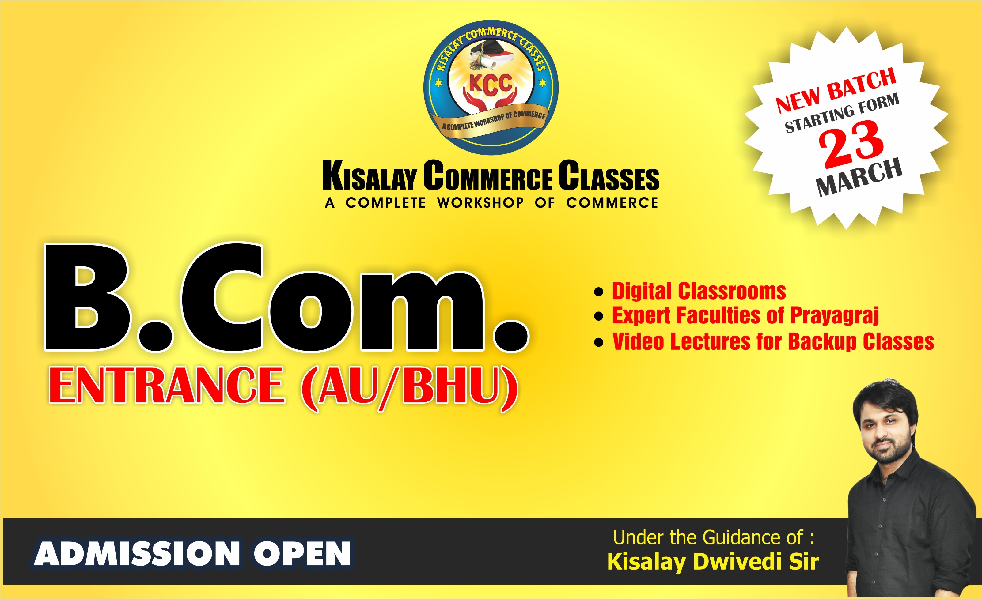 Kisalay Commerce Classes
