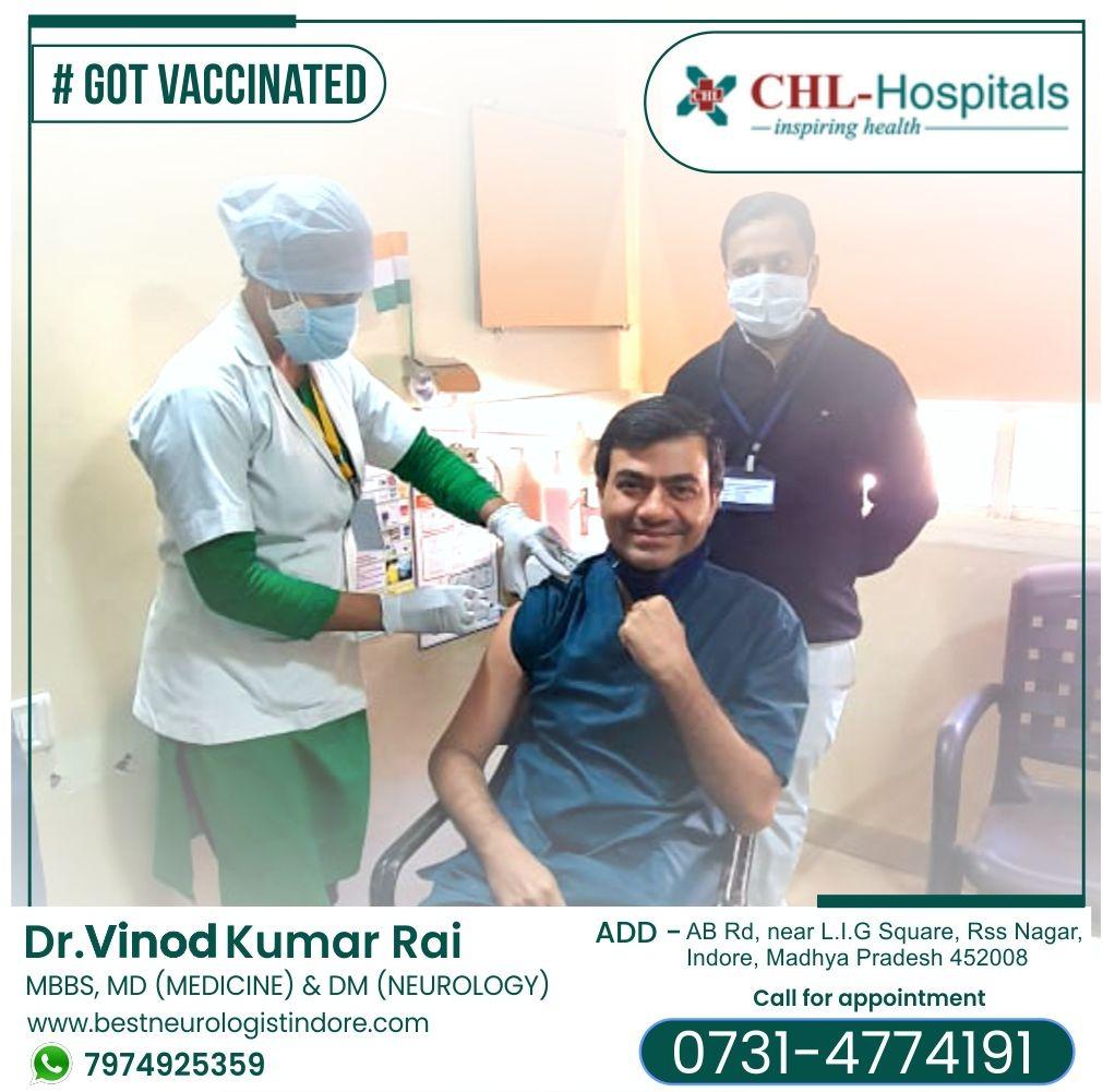 Neurologist in Indore - Dr Vinod Rai