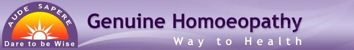 GENUINE HOMOEOPATHY