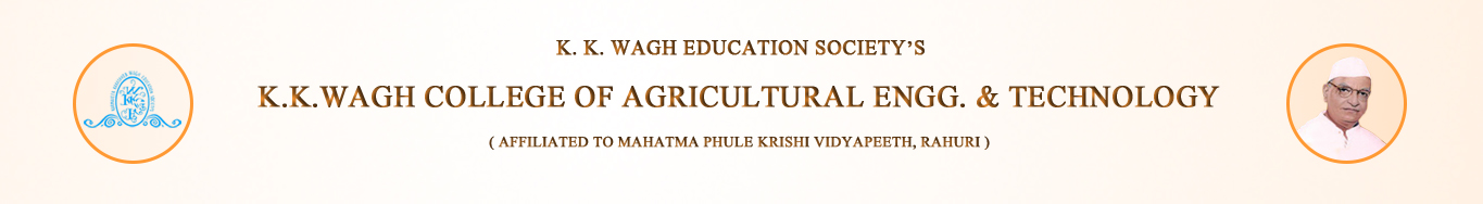 K.K.Wagh College of Agricultural Engineering & Technology