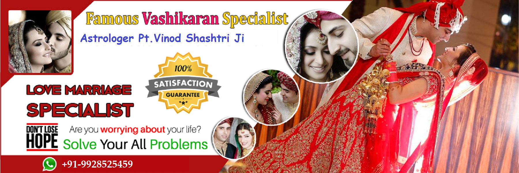 Genuine & Real Vashikaran Specialist Astrologer in India