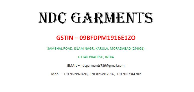 NDC Garments
