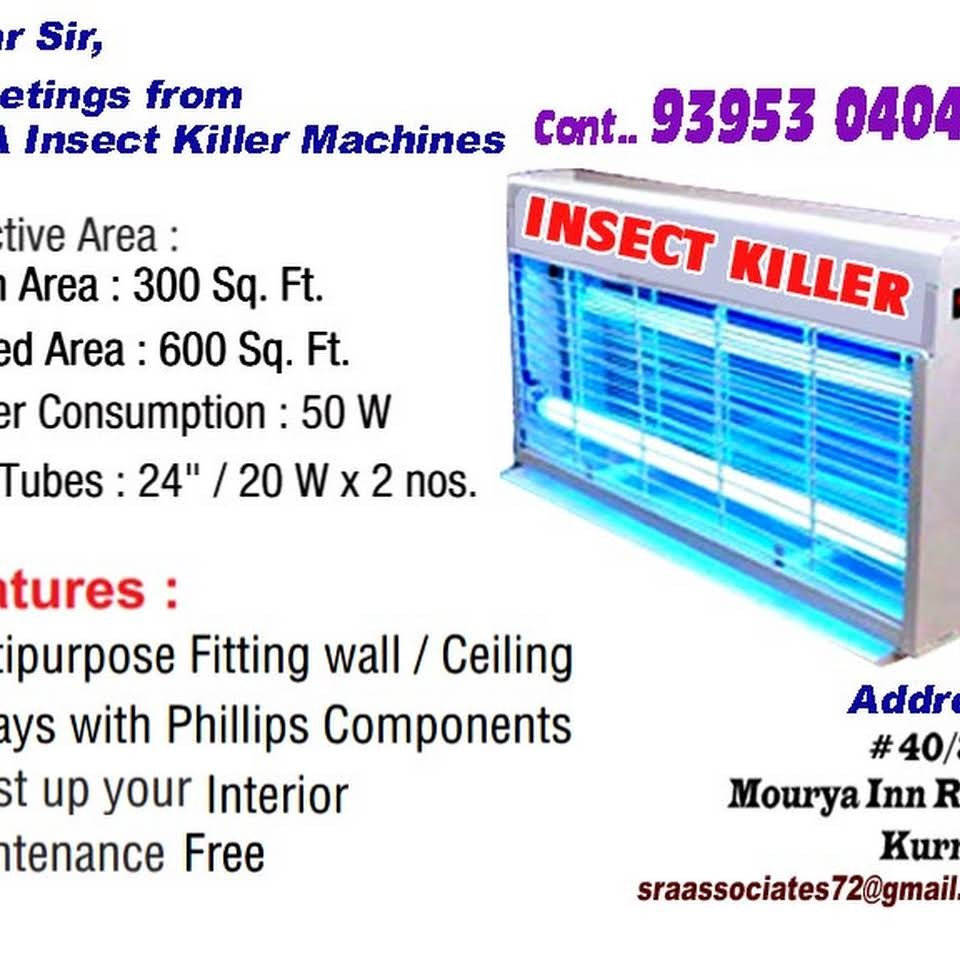 SRA insects killer machines