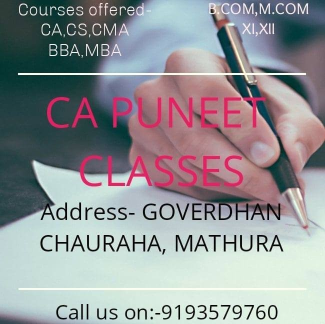 Puneet Classes