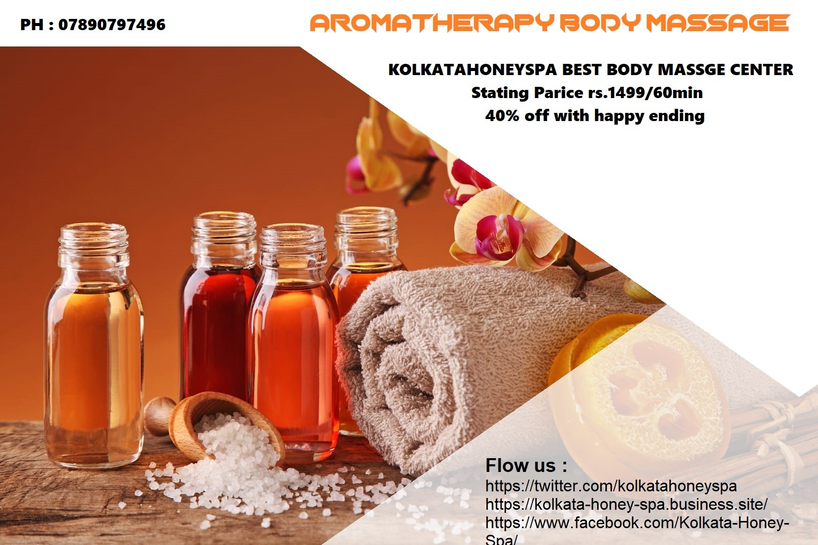 Massage and Spa center in kolkata