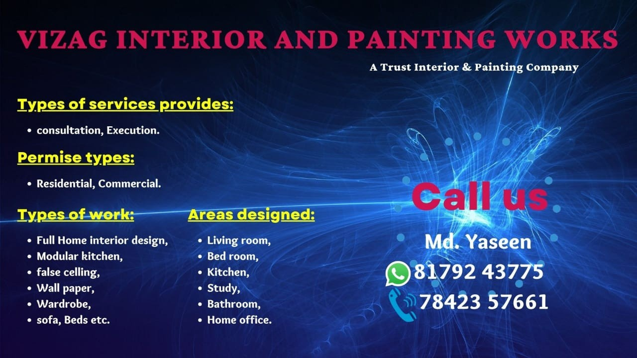 Vizag interior and painting works