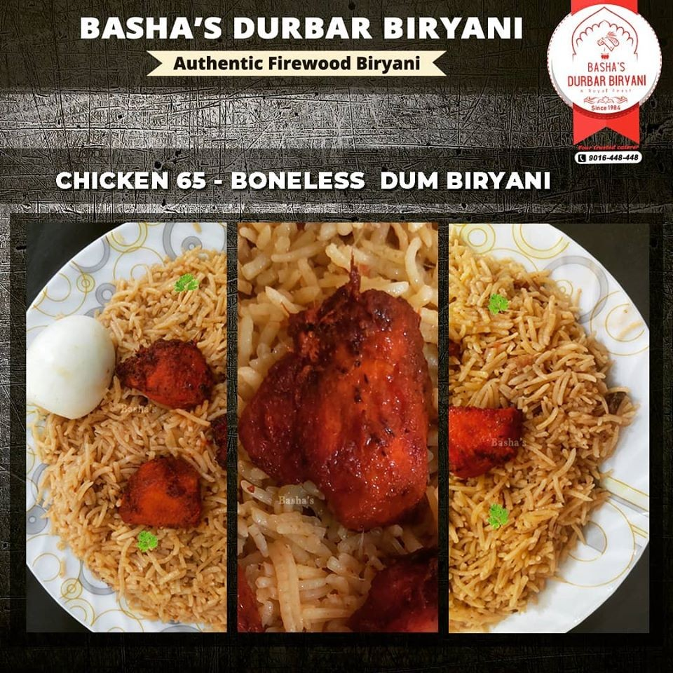 Basha's Durbar Biryani