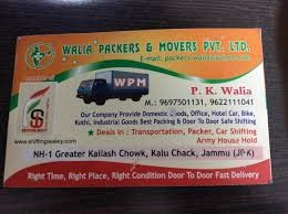Walia Packers and Movers