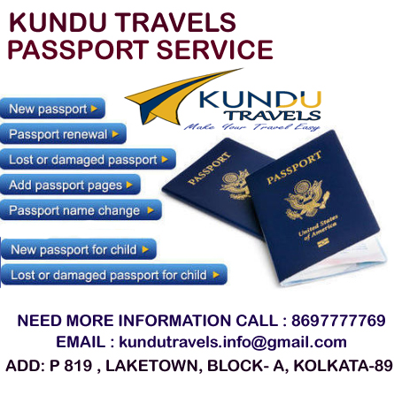 KUNDU TRAVELS PASSPORT AND VISA SERVICES
